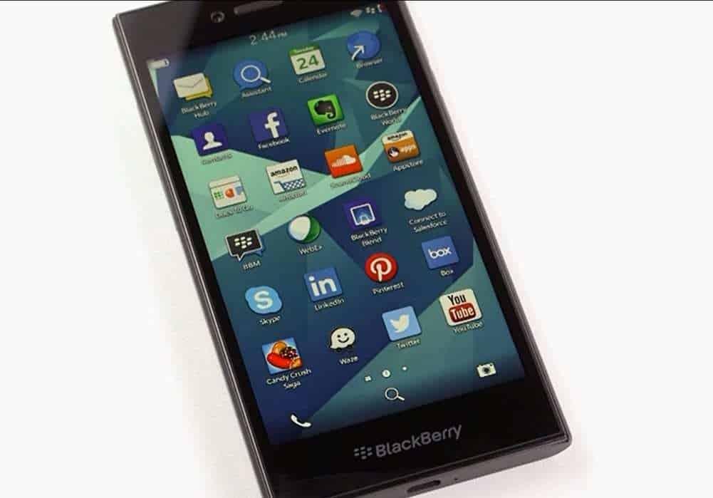 BlackBerry Leap mobile health