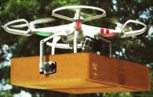 Amazon Drones Augmented Reality Delivery Shipping