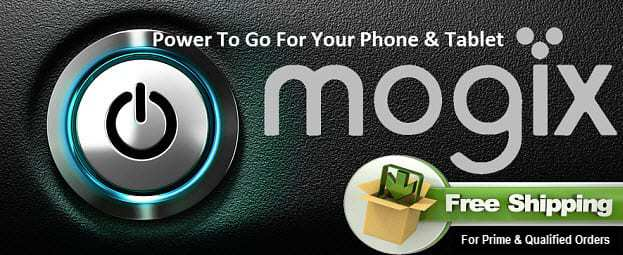 Mogix External Battery Charger Sold on Amazon