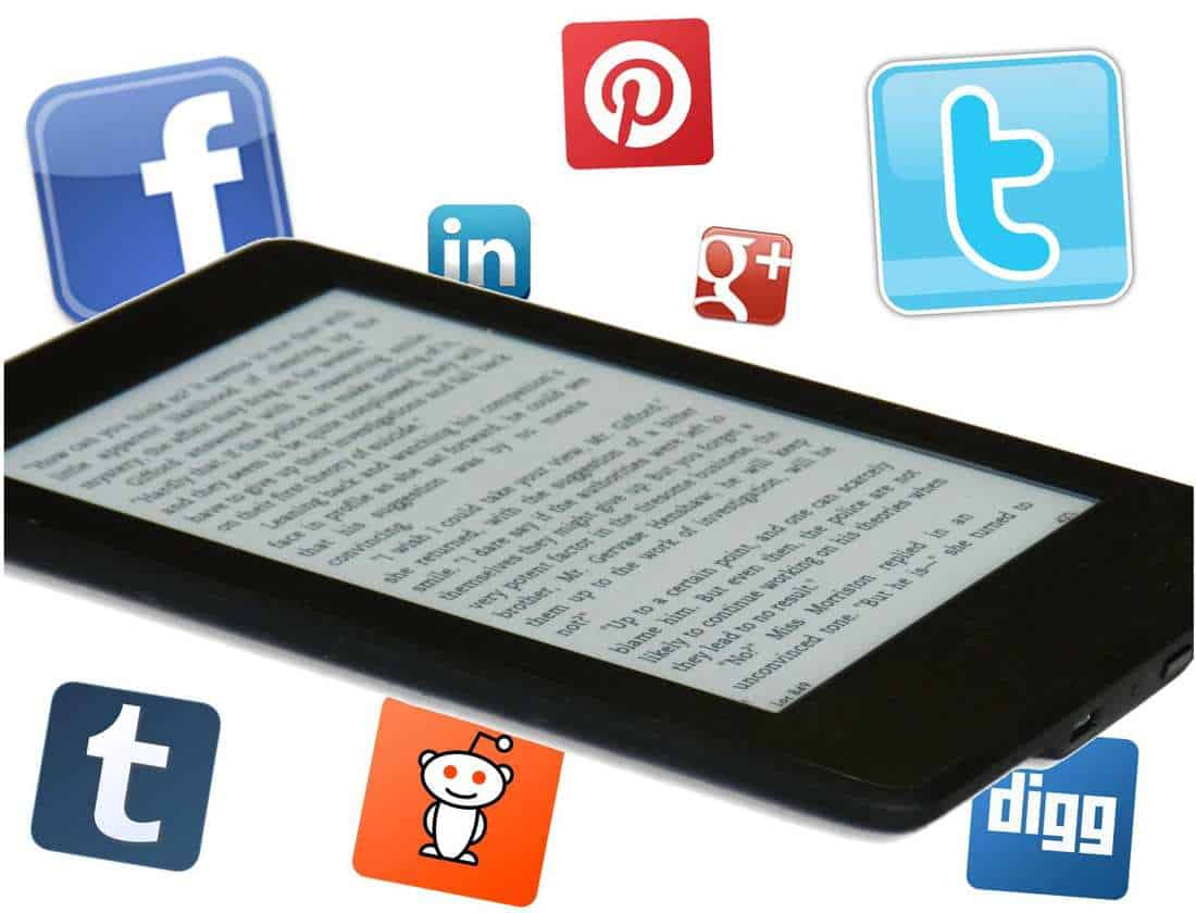 social media marketing for book promotions authors