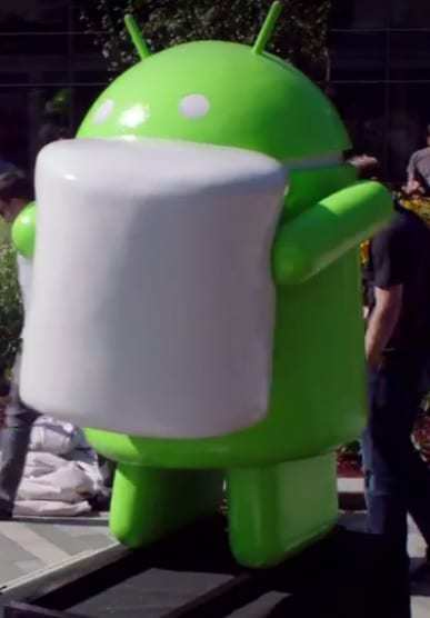 Android versions like Marshmallow