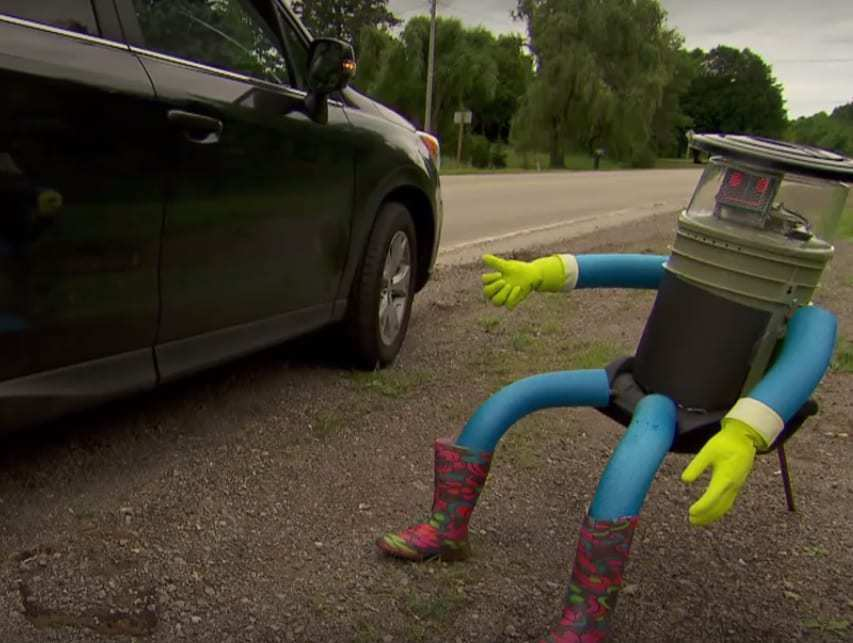 hitchbot mobile technology