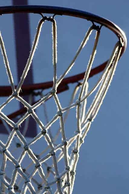 basketball net fitness wearable technology
