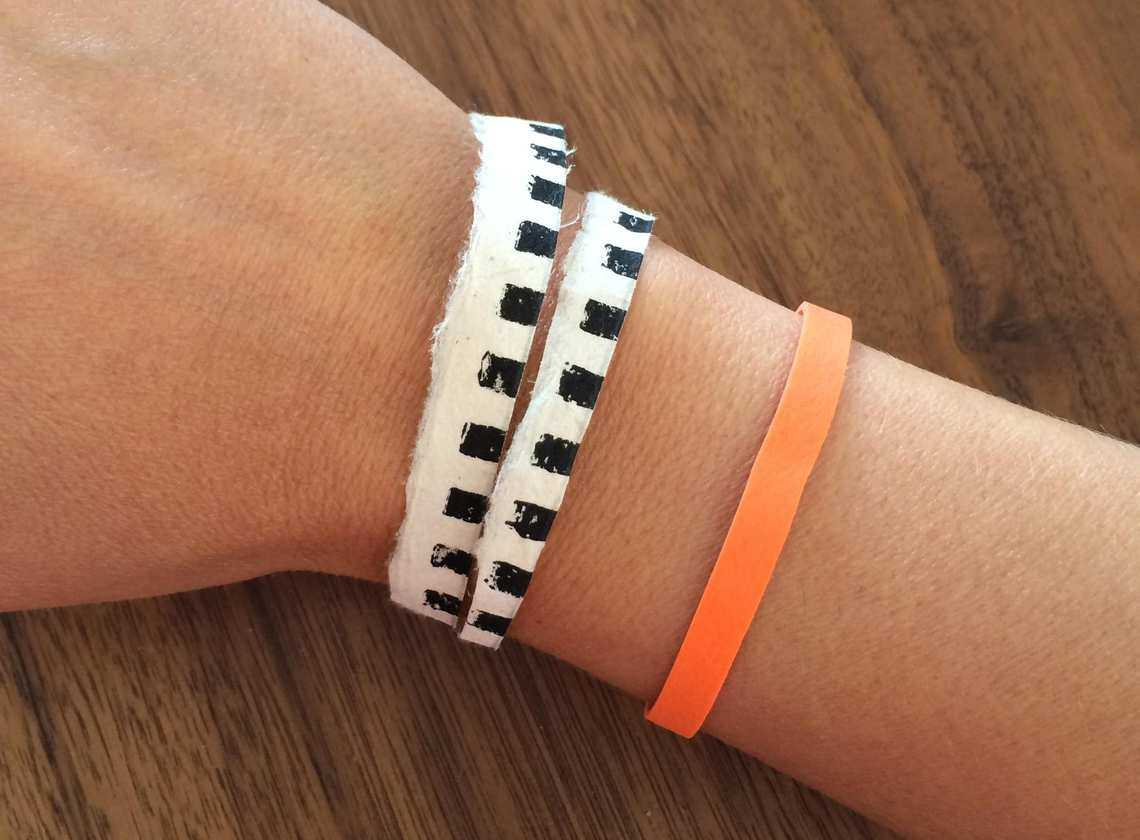 wearable technology wristband example