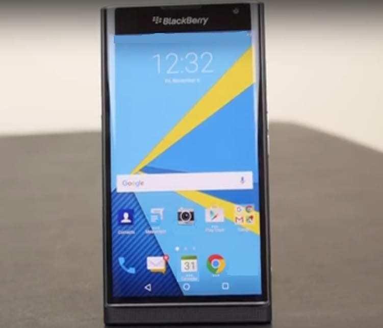 BlackBerry priv - mobile phones