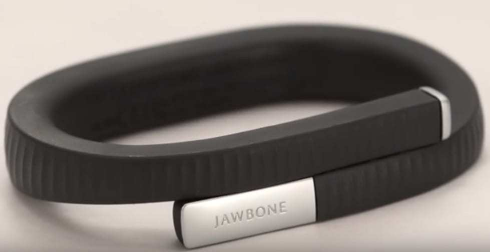 Jawbone Up wearable technology fitness tracker