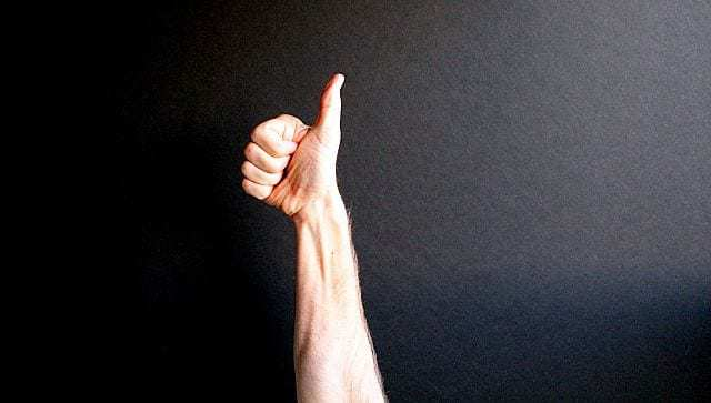 sign language thumbs up wearable technology