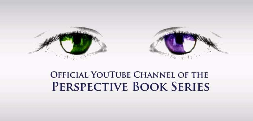 Perspective book series Youtube channel trailer - social media marketing