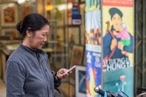 Mobile commerce is growing aggressively in Vietnam