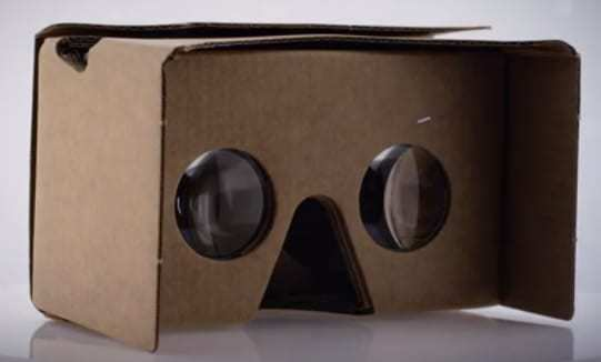 Google Cardboard youtube virtual reality