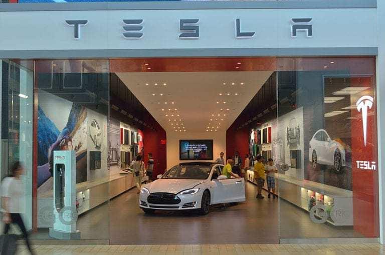 Tesla Motors quick response codes