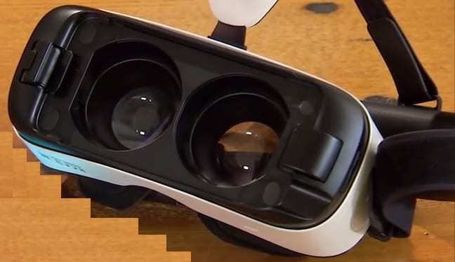 samsung virtual reality headset gear
