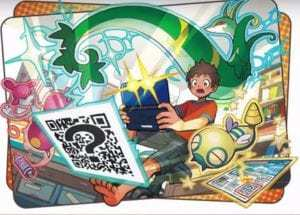 Pokemon QR codes feature added to Sun and Moon