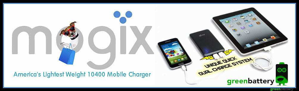 Mogix External Battery Charger