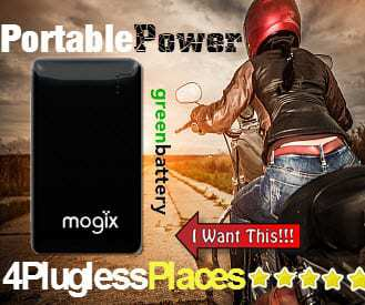 Mogix External Battery Charger for Smartphones and Tablets