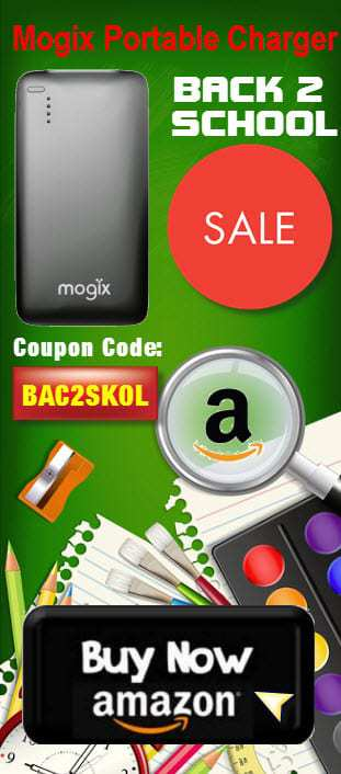 Mogix Portable Charger Sale