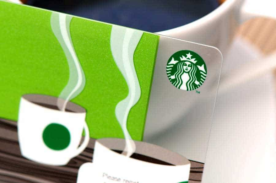 Starbucks mobile payments card