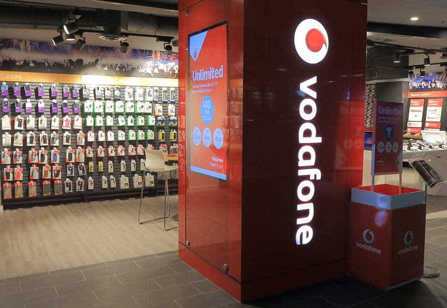 Vodafone telecommunication mobile wallet launch