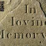 QR code grave stones keep a person's story alive