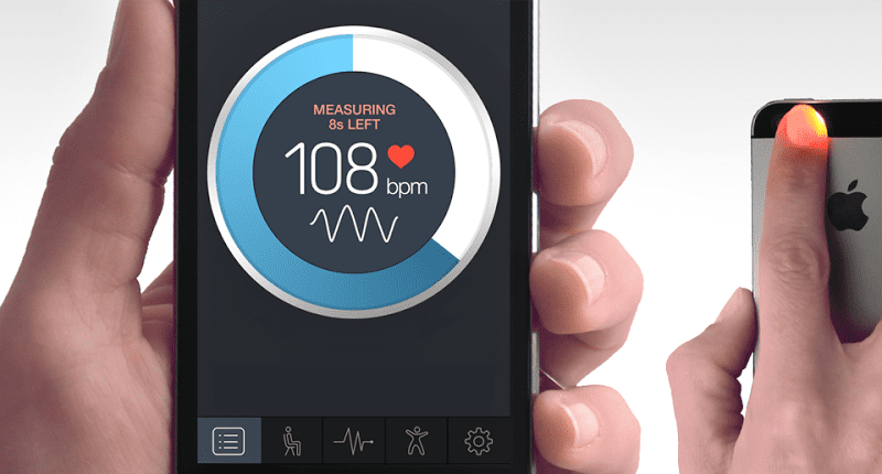 Measure Your Heartbeat with smartphone