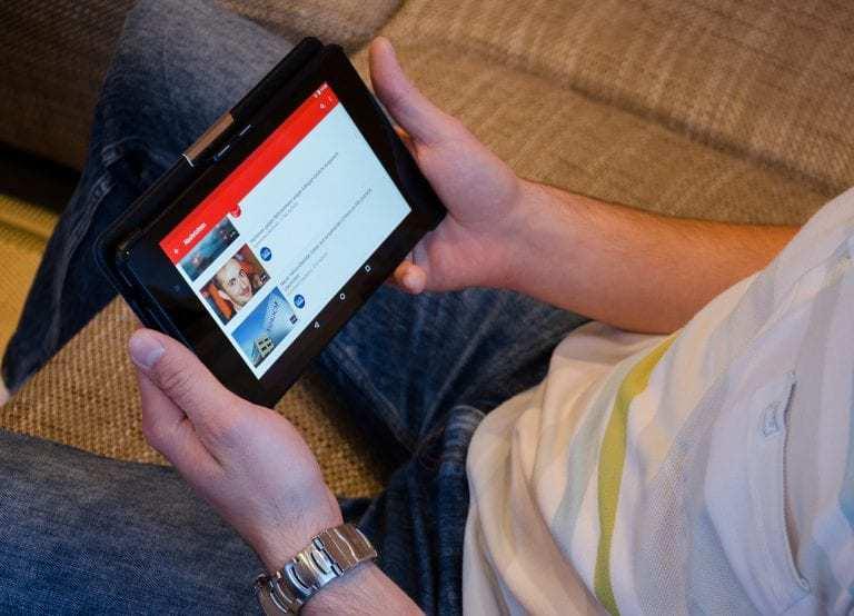 YouTube in-app messaging
