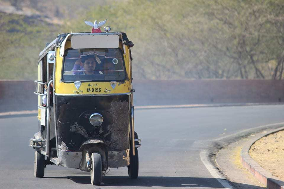 autorickshaw qr codes - India autorickshaw