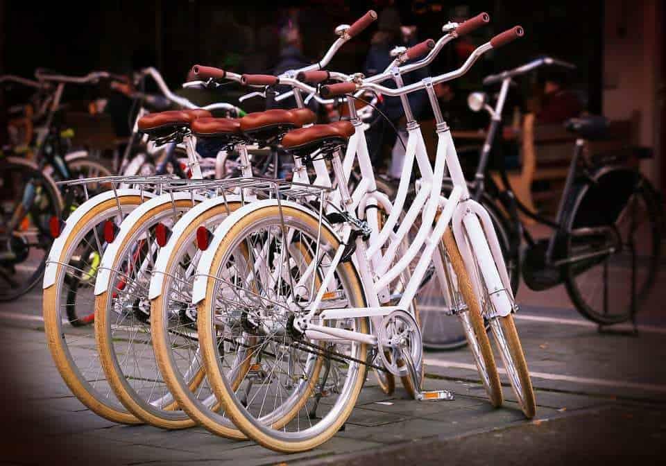 bicycle bike qr code con