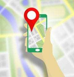 uber app mobile map tracking