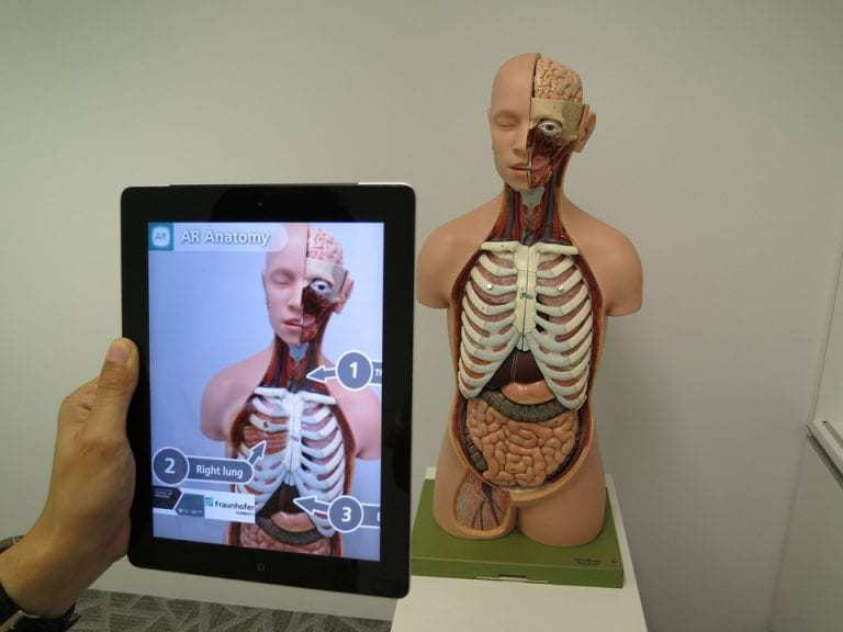 snapchat augmented reality medical health
