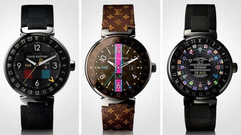louis vuitton smartwatch wearable technology