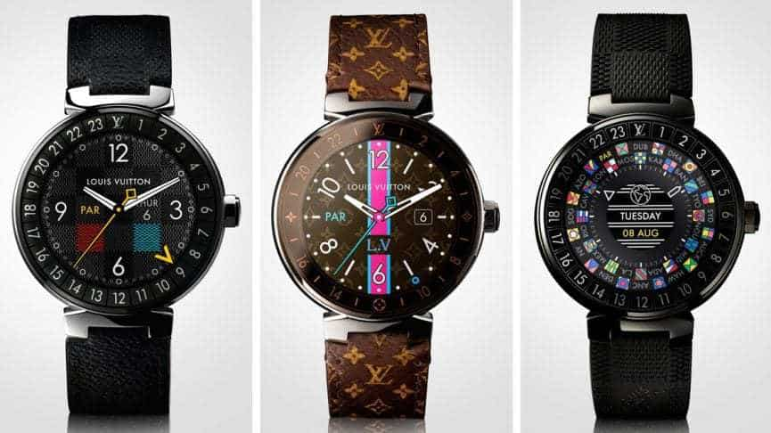 louis vuitton smartwatch wearable technology