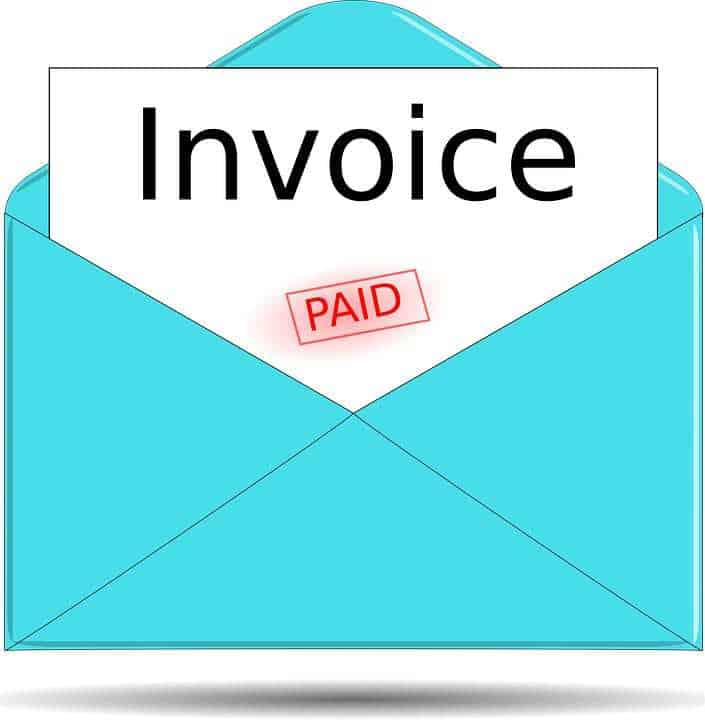 invoice qr code bill payment