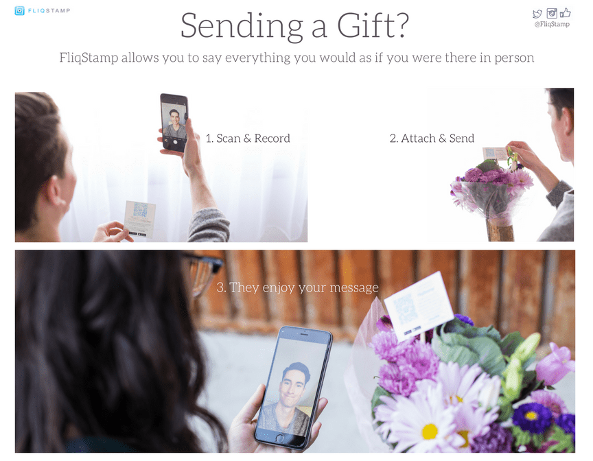 New mobile application FliqStamp lets users personalize any moment