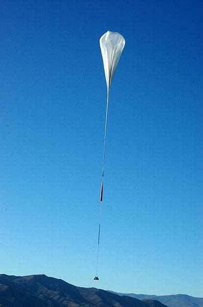 stratospheric balloon - not loon balloons