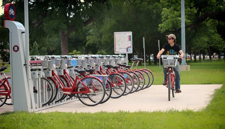 QR Code geofencing - Bicycle Sharing