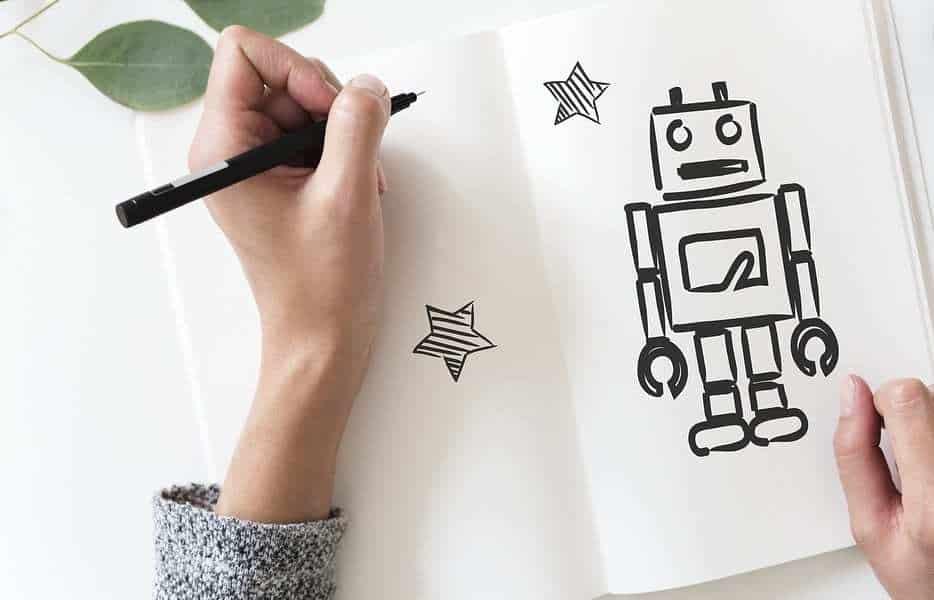 Amazon Robot - Robot Drawing - Artist
