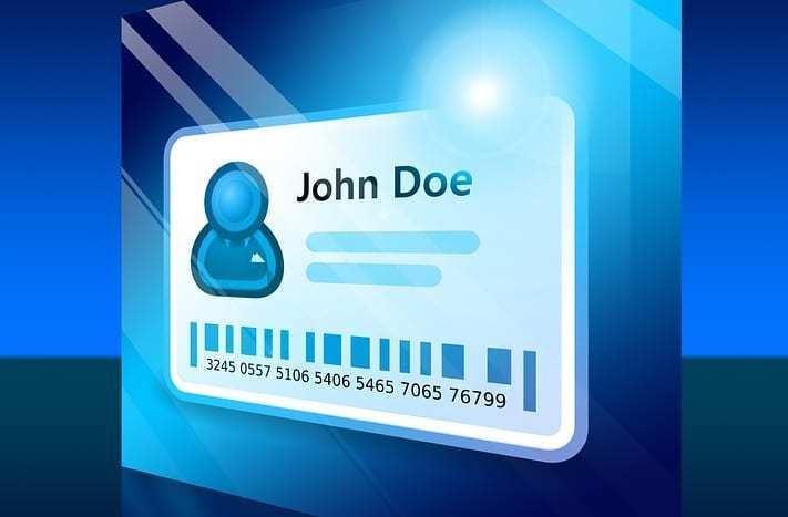 QR code ID cards - ID Card