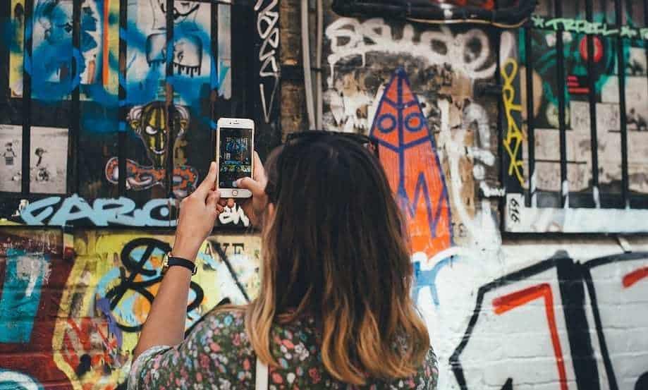 Bitcoin QR Code - Street art, grafity, mural