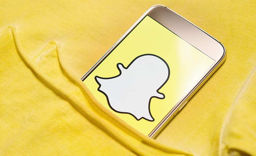 New Snapchat Feature - Social media - smartphone