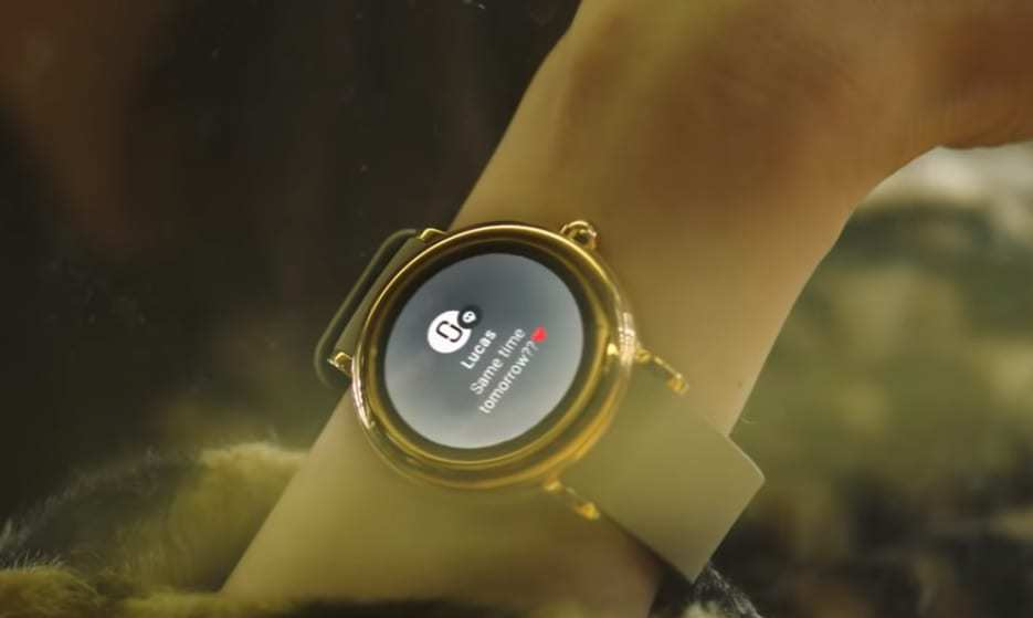 Marc Jacobs smartwatch - Riley Touchscreen Smartwatch