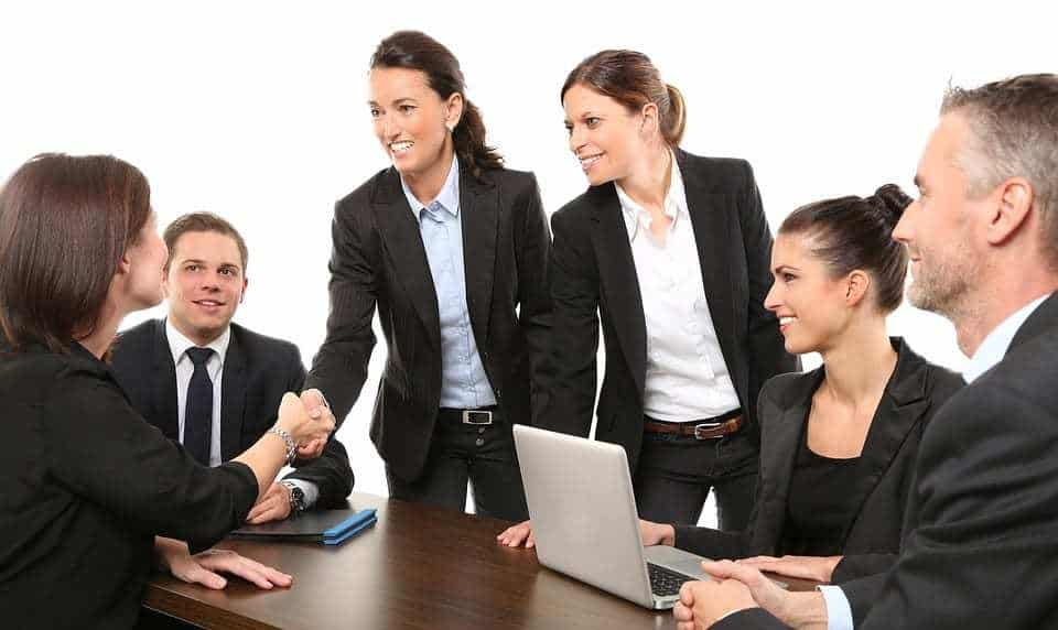 Mobile Game Advertising Partnership - Business Deal - Handshake