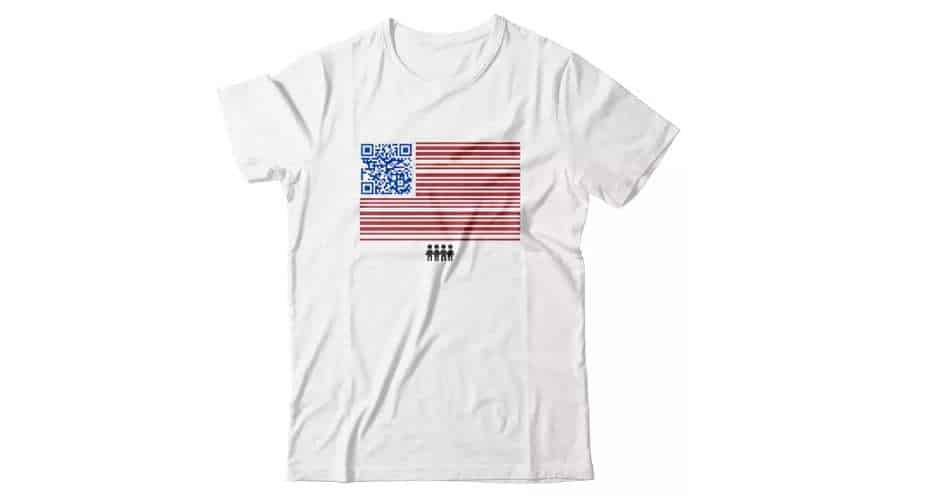 QR Code Merchandise - March For Our Lives Campaign - United We Stand Apparel