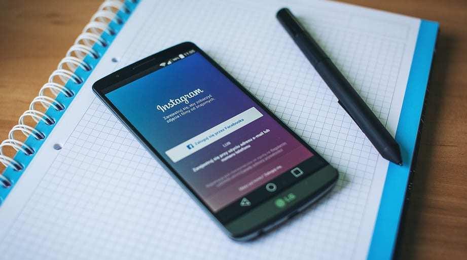 Instagram Mobile Shopping App Instagram app on smartphone