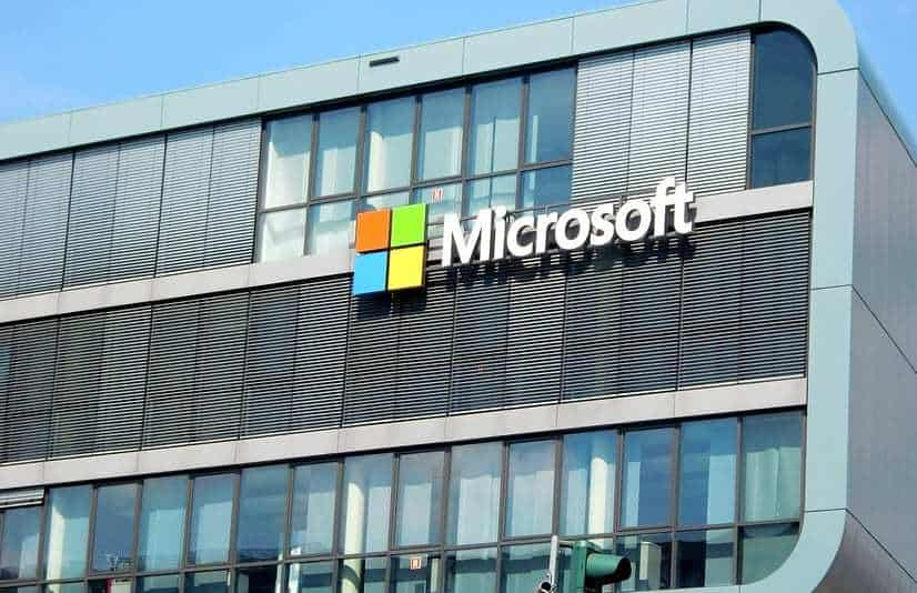 Mobile banking fraud - Microsoft Technology - Microsoft building