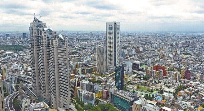 QR Code Payments Japan - Tokyo City