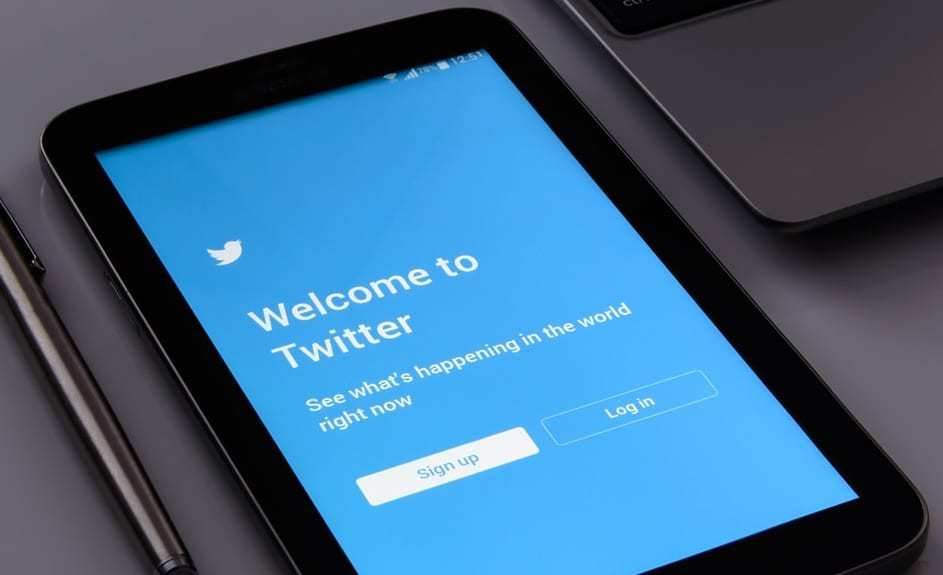 Twitter Unfollow - Twitter Login Screen