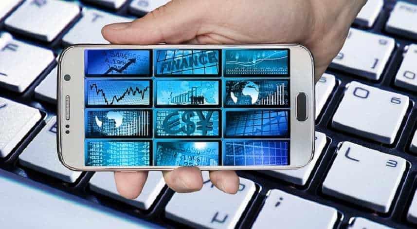 Bank of America mobile banking - banking, economy, mobile phone