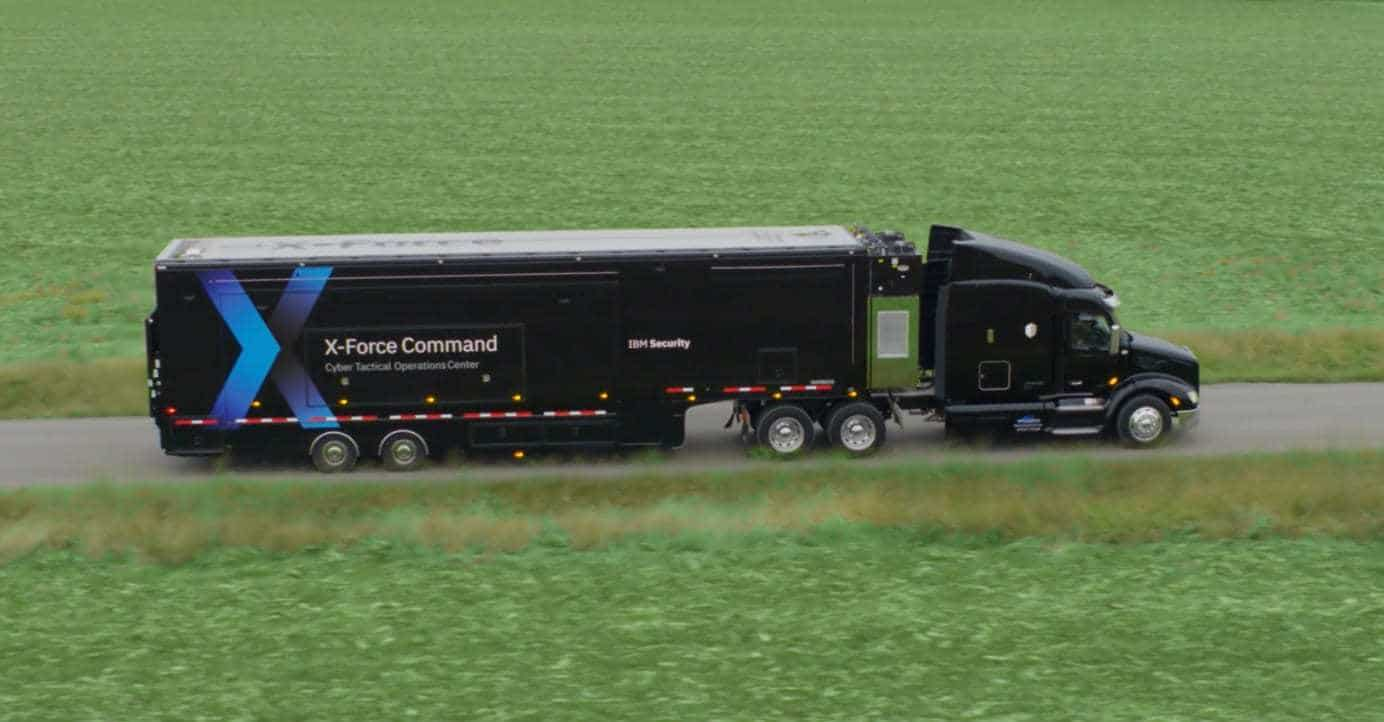 IBM X-Force Command Cyber Tactical Operations Center - Mobile Cybersecurity Facility