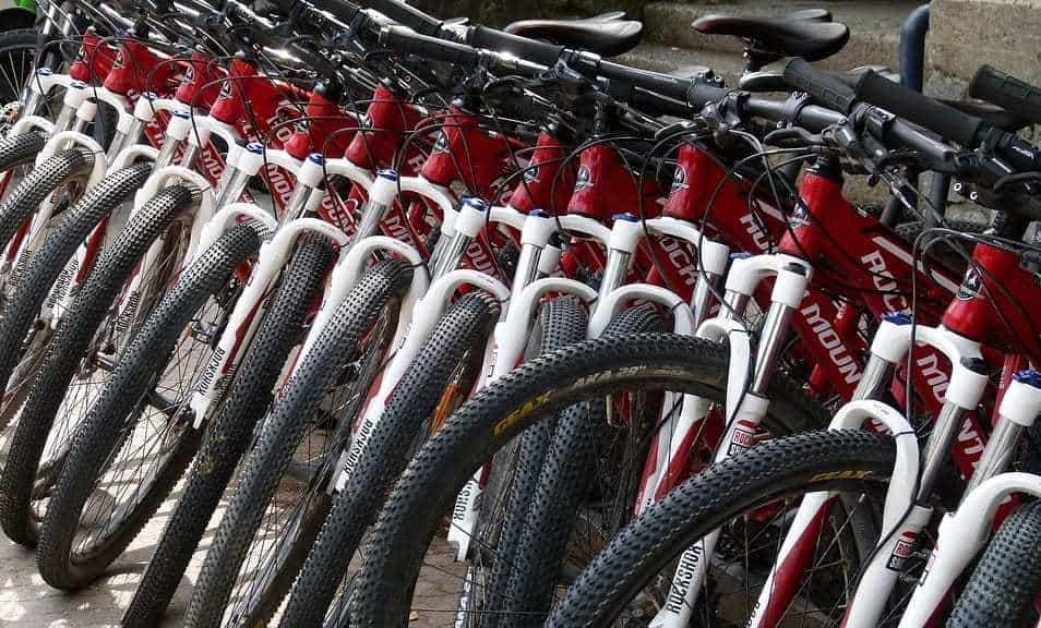QR code parking - Bike Rental