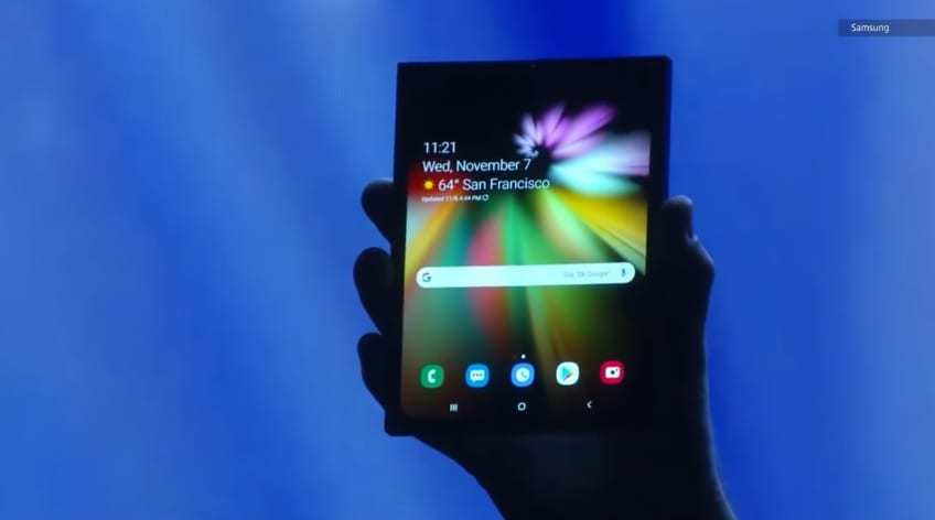Samsung Foldable Phone - Infinity Flex Display